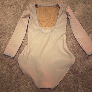 Yumiko Leotard Sofiane xs 3/4 sleeves high cut